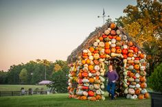 P. Allen Smith's beloved Pumpkin House at Moss Mountain Farm | A MUST-SEE during the fall season. Come see us for a tour this fall!