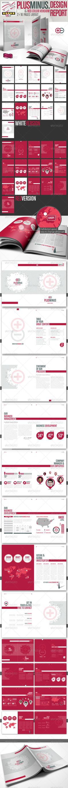 proposal report template%0A Annual Report xCross    A  and US Letter Size   Annual reports  Brochures  and Brochure template
