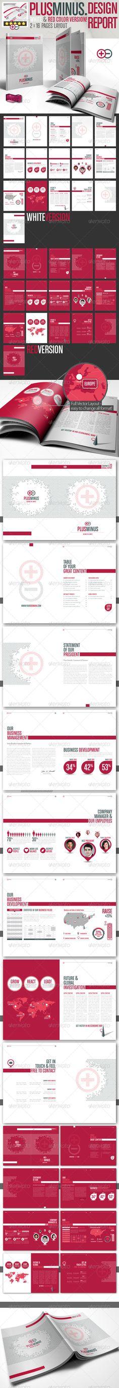 Corporate Brochure PLUSMINUS A4 2 Color