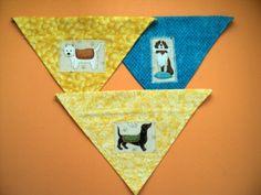 Over the collar dog bandannas