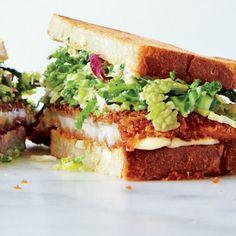 Chicken Cutlet Sandwiches with Savoy Cabbage Slaw Recipe
