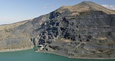 Because who says a slate quarry can't be beautiful? | 44 Reasons Wales Should  Be On Your Bucket List