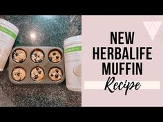 Lose weight with a healthy and delicious muffin recipe. Its high protein and low calories. Protein Desserts, Protein Muffins, Healthy Protein Breakfast, Protein Dinner, Protein Mug Cakes, Protein Donuts, Protein Cookies, Protein Foods, Protein Bars