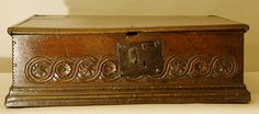 Elizabethan Table Box English, 1575-1600. One for the discerning collector. Pure Elizabethan, and mint condition