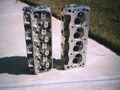 Porting and polishing your cylinder heads is the best way to get the most horsepower for your money. Ls Engine, Engine Swap, Chevy Chevelle Ss, Chevy Nova, Chevrolet, Crate Motors, Car Mods, Cylinder Head, Drag Cars