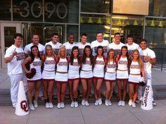 University of Oklahoma Spirit Program,   cheerleading, cheer, cheerleaders       pinterest.com/kythoni       more - facebook.com/pages/The-University-of-Oklahoma-Spirit-Program/187095281333496