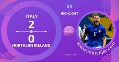 Soccer Highlights, World Cup Qualifiers, Northern Ireland, Italy, Italia, Northern Ireland County