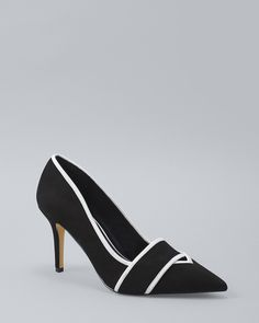 9a60b9af25c Women s Black  amp  White Pumps by White House Black Market Black And White  Pumps