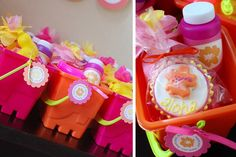 Party favors in a bucket via lilblueboo.com