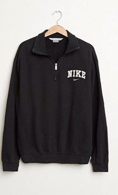 6ffbe2a48 shirt jacket nike sweater sweater black nike half zip half zip up nke nike  windbreaker nike jacket sweatshirt vintage pullover nike zipper jacket black  ...