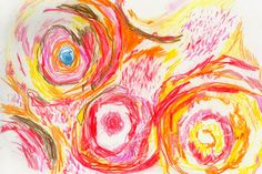 Rosey Roses Process Art, Roses, Illustration, Painting, Pink, Rose, Painting Art, Paintings, Illustrations