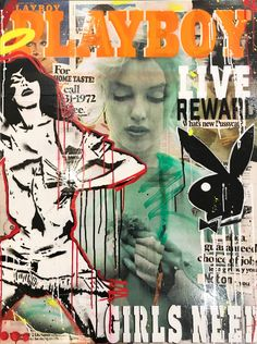 Silkscreen stenciled collaged and mixed media on paper 102 x 76 cm Photo Wall Collage, Collage Art, New Foto, Pop Art Wallpaper, Arte Horror, Arte Pop, Aesthetic Collage, Cool Posters, New Wall
