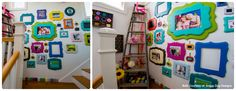 soggy dog designs' studio 'wall of frame' featured on The Organic Bloom's website!