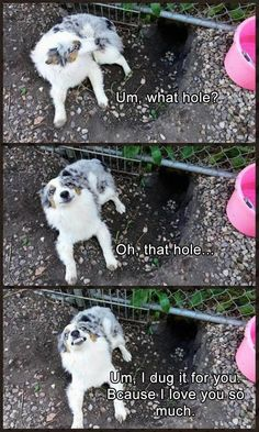 The hole issue