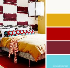 21 best bright bedroom colors images color combos paint colors rh pinterest com