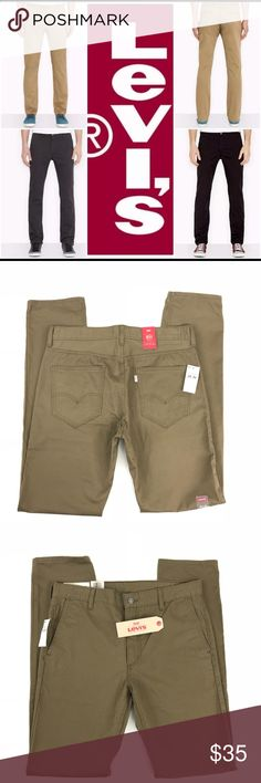 8f7f7bcc531848 Levis Mens 511 Slim Fit Brown Trousers Size 34x36 Levis Mens 511 Slim Fit  Brown Trousers
