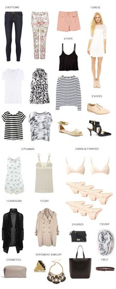 (In style) travel outfits, travel wardrobe, travel wear, travel capsule, va Travel Capsule, Travel Wear, Travel Style, Travel Outfits, Travel Fashion, Vacation Outfits, Travel Wardrobe, Capsule Wardrobe, Wardrobe Ideas