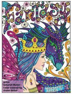 Fantasy Artist Deborah Muller Cover Colored By Shawn Bobar