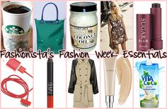 Fashionista's Fashion Week Essentials