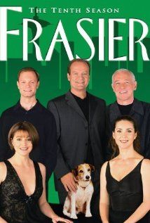 Picking up the slack from the departure of CHEERS from American television in smart sitcom FRASIER centers on pompous psychiatrist and former Cheers regular Frasier Crane (Kelsey Grammer) as he Films Cinema, Cinema Tv, Frasier Crane, Mejores Series Tv, Doctor Who, Old Shows, Vintage Tv, Vintage Hollywood, Tv Shows