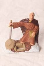 Moroni Burying Plates Action Figure - 3 Inch