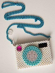 Perler bead camera.