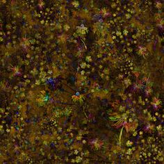Autumn Nature by Simonetta De Simone Seamless Repeat  Royalty-Free Stock Pattern
