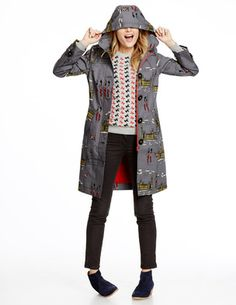 Rainy Day Mac - Love this! Especially in the London print! (Boden). *just received this and I'm in love!*