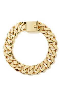 Eliza Chain Choker. Totally essential chunky gold chain choker featuring a hidden clasp closure. Looks amazing with your favorite blouse or dress!