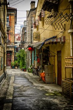 Street in old Shanghai, China | by Iorga Catalin on 500px