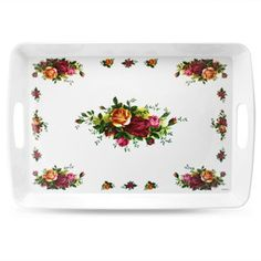 Royal Albert - Old Country Roses Melamine Serving Tray   Extra Large   BRAND NEW