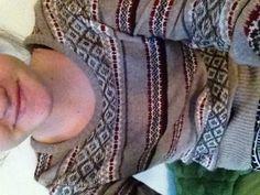 Nice warm sweater!