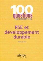 Qu'est-ce donc que la RSE, la Responsabilité Sociétale des Entreprises ? C'est tout simplement la déclinaison des principes du développement durable (DD) à l'échelle d'une organisation.