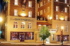 """From """"George"""" to """"Martha,"""" the Historic Hotels of I-81 have Returned to their Glory « Virginia's Travel Blog. General Francis Marion Hotel, Marion, VA"""