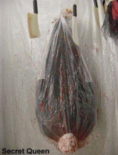 Poubelle de reste humain d corations d 39 halloween - Idee deco halloween a faire soi meme ...