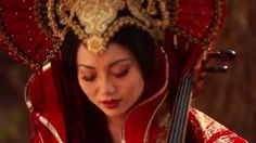 Oogway Ascends (from Kung Fu Panda) - Tina Guo.  This is sooooo beautiful; makes me miss playing cello so much.  How she plays in that outfit though is beyond me, haha.  Absolutely love this piece and she plays it beautifully.