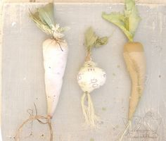 fabric vegetables