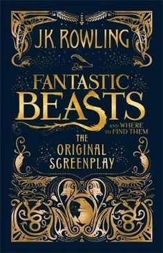 Rowling's screenwriting debut is captured in this exciting hardcover edition of the Fantastic Beasts and Where to Find Them screenplay.When Magizoologist Newt Scamander arrives in New York, he intends his stay to be just a brief stopover. Newt Fantastic Beasts, Jk Rowling Fantastic Beasts, Fantastic Beasts And Where To Find Them Book, Joanne K Rowling, Harry Potter Hardcover, Hardcover Books, Science Fiction, Imprimibles Harry Potter, Film Fantastic