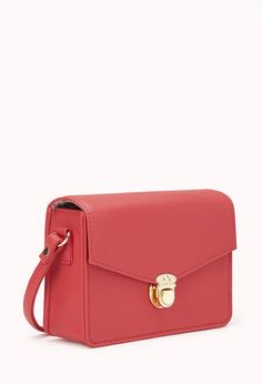 Sophisticate Structured Crossbody from Forever21... and the inside is super cute too!