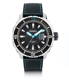 """Exclusively for our Canadian """"Alpinists"""". The Birks Airmaster Blue Label engineered by Alpina. Limited Edition."""