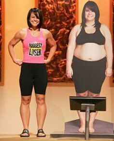 Talk about motivation!     Can I get on the Biggest Loser please? Hey Bob...help? :) lol