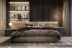 Interior design studio based in Kiev, Ukraine Bedroom Colors, Bedroom Sets, Home Bedroom, Master Bedroom, Bedroom Decor, Easy Home Decor, Cheap Home Decor, Round Beds, Rustic Home Design