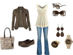 """Coffee with Cream"" by mmessenger on Polyvore"