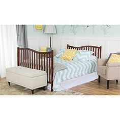 Shop for Dream On Me Chelsea Convertible Crib. Get free delivery On EVERYTHING* Overstock - Your Online Furniture Outlet Store! Giraffe Decor, Convertible Crib, Headboard And Footboard, Wall Art Pictures, Baby Cribs, Mattress, Chelsea, Toddler Bed, Modern