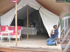 Glamping moments in Clark Fork, Idaho