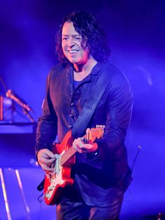 Roland Orzabal of Tears For Fears performs at Golden 1 Center on July 23, 2017 in Sacramento, California.