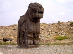 Hittitte Lion Statue