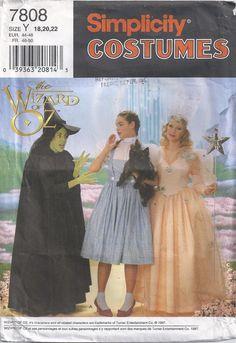 Wizard Of Oz Witch Dorothy Glenda Adult Costume Womens by Rosie247, $9.99