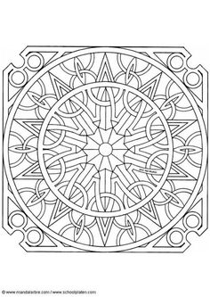 Celtic mandalas Coloring pages. Select from 31983 printable Coloring pages of cartoons, animals, nature, Bible and many more. Mandala Art, Celtic Mandala, Mandala Design, Geometric Coloring Pages, Mandala Coloring Pages, Coloring Book Pages, Free Coloring Sheets, Free Printable Coloring Pages, Zentangle Patterns