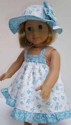 Handmade 18 Inch Doll Clothes fit American Girl by dollupmydoll, $20.00